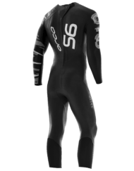 Orca Mens S6 fullsleeve triathlon wetsuits back